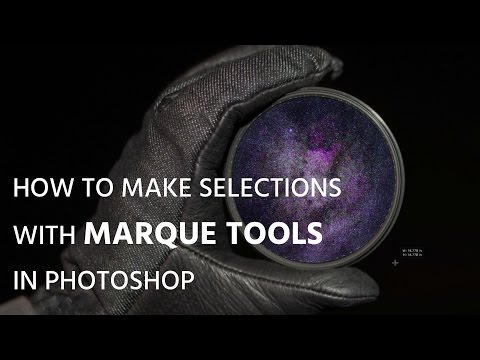 How to make selections with Marque tools in Photoshop