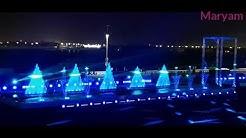 Fountain Show in Jeddah Season Festival 2019 النافورة