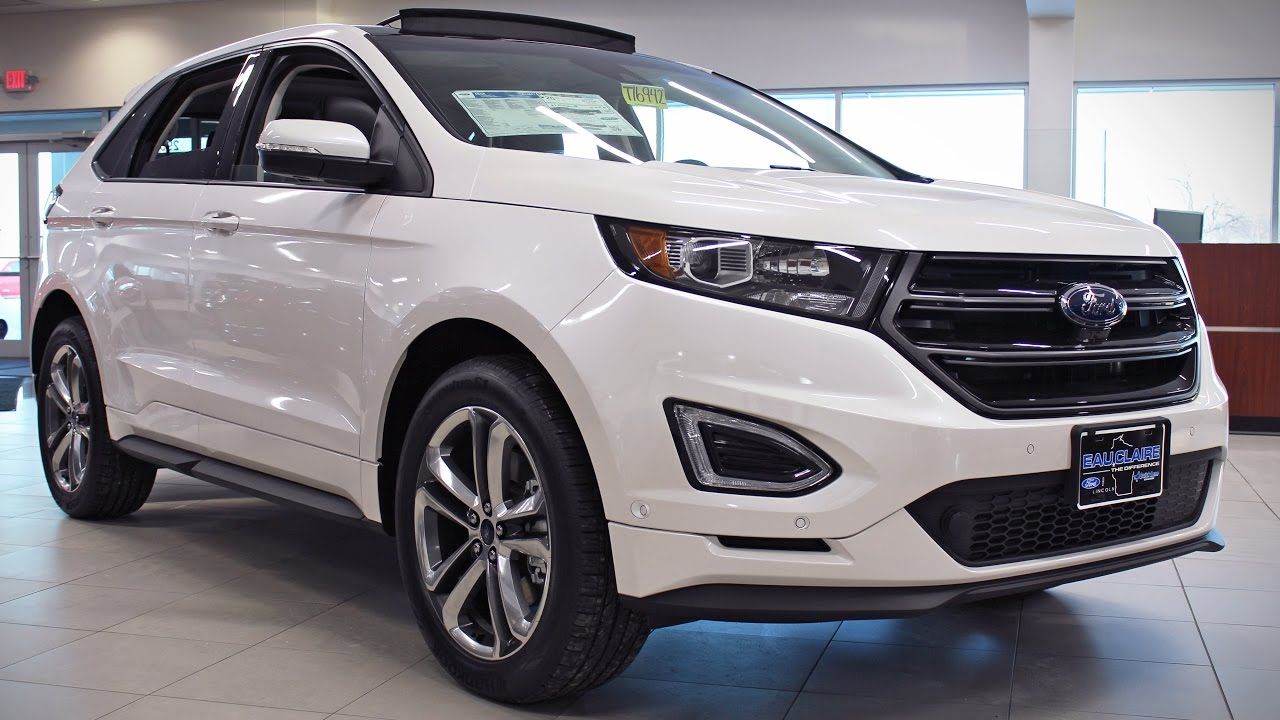 2017 Ford Edge Sport 2 7l Ecoboost Awd Suv At Eau Claire Lincoln Quick Lane You