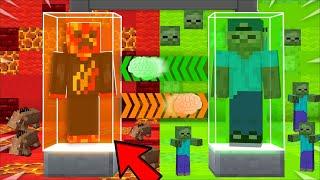 I Transformed into PRESTON for the DAY !! Minecraft Brain Swap !!