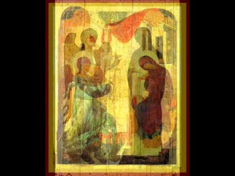 Бах - Гуно Аве Мария Иконы благовещения