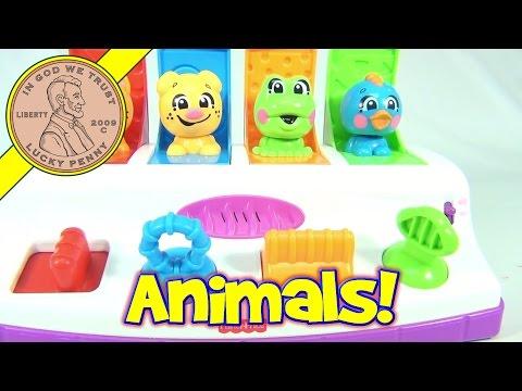 Fisher-Price Brilliant Basics Bobble & Giggle Pals Pop Up, 2005 Mattel Toys