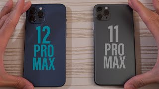 iPhone 12 Pro Max vs iPhone 11 Pro Max SPEED TEST!