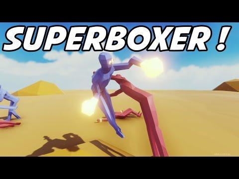 TABS - Super Boxer vs Super Peasant!! - Totally Accurate Battle Simulator - Free Open Alpha!