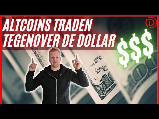 ALTCOINS traden tegenover de Dollar!