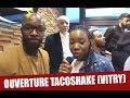 Buzzdefou était présent à l'ouverture du Tacoshake à Vitry avec Mokobé, Lassana Diarra...