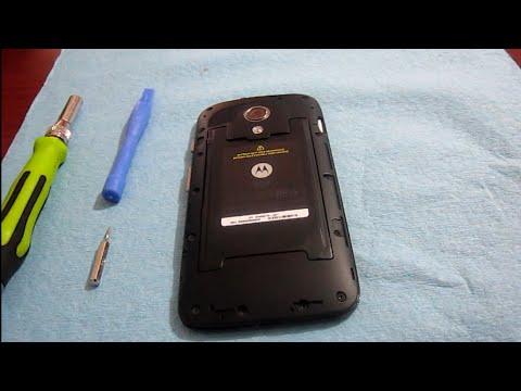 Como Desarma Desmontar Moto G Xt 1032 O Xt 1030 Bateria