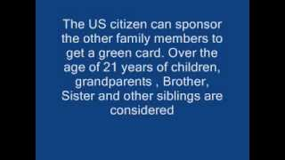 Top 3 ways to get a green card in the USA | Get a US Permanent residency