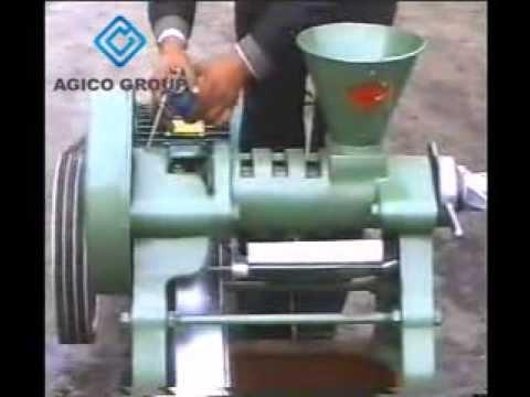 Screw Oil Press Design - Small Oil Press Machine