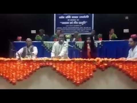 Raat bhar ka hai dera - cultural ministry -Deepak Srivastava and Pranjli Mishra Live