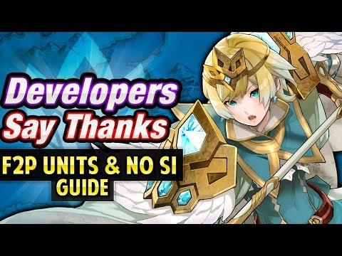 Fire Emblem Heroes - Devs Say Thanks! Maps w/ F2P Units & No Skill Inheritance [Guide]
