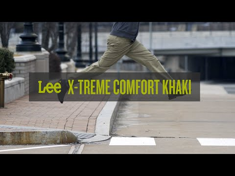 30a46f68 Guys Share Their Thoughts On The New Lee X-Treme Comfort Khaki | Lee Jeans