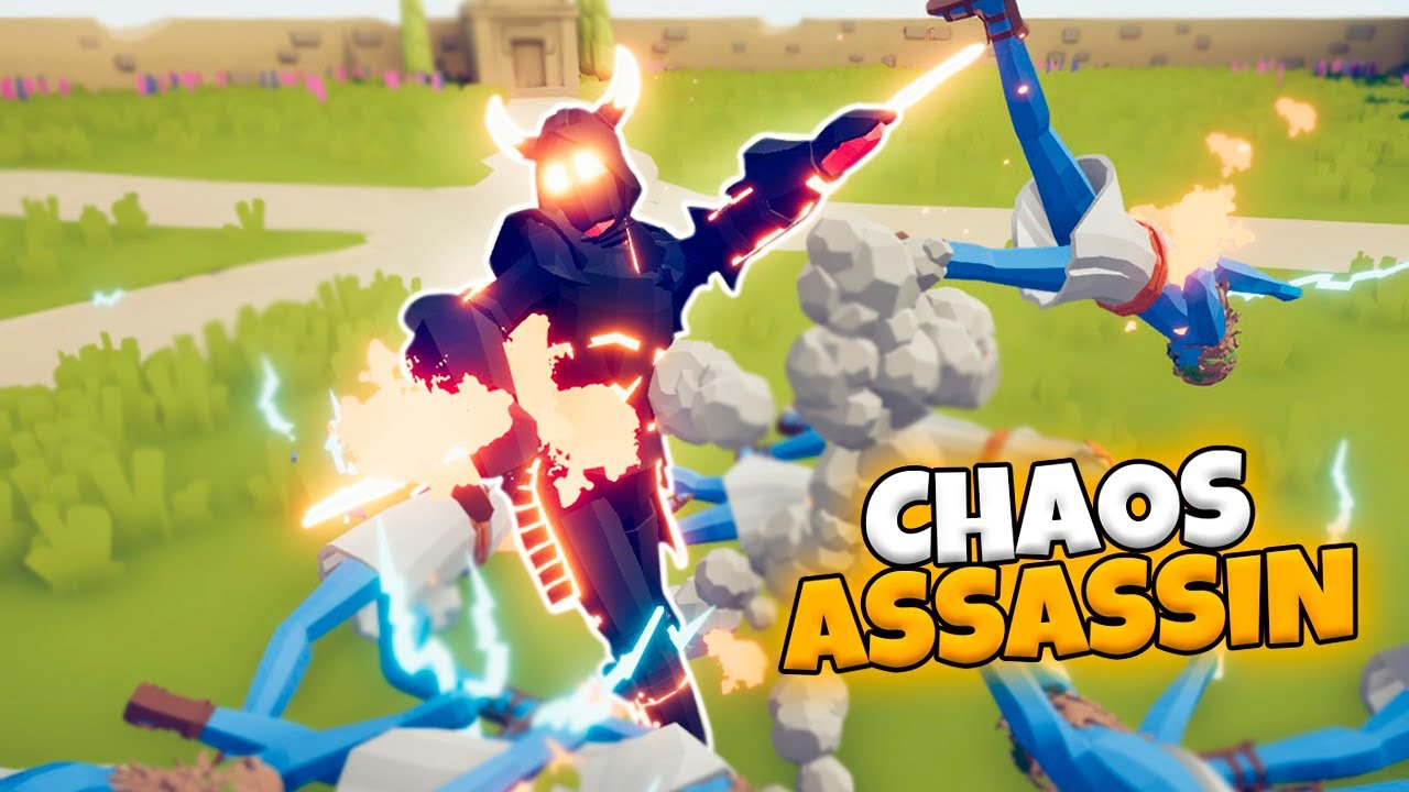 CHAOS ASSASSIN VS EVERY FACTION   TABS MODDED GAMEPLAY