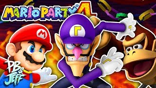 Mario Party 4 (Part 4) - A CLOSE GAME! [Ft. Yungtown]