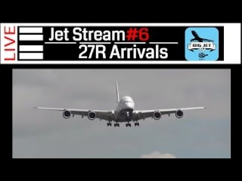Jet Stream #6: [PART 1] BIGJET TV LIVE Midweek Show: 27R Arrivals.