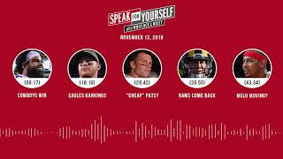 SPEAK FOR YOURSELF Audio Podcast (11.12.18)with Marcellus Wiley, Jason Whitlock | SPEAK FOR YOURSELF