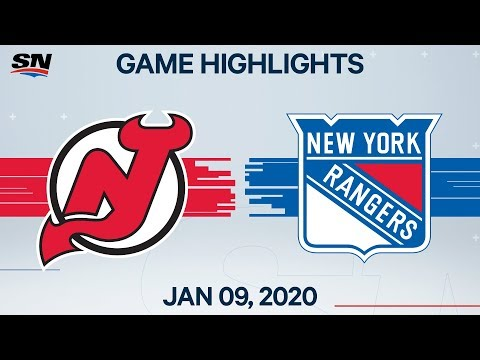 NHL Highlights | Devils Vs. Rangers – Jan. 9, 2020