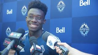 Alphonso Davies discusses transfer to Bayern Munich