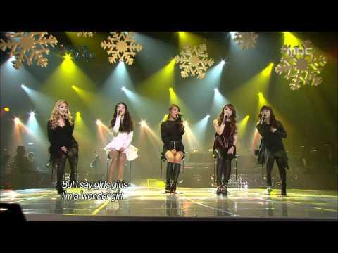 Wonder Girls - Girls Girls, 원더걸스 - 걸스 걸스, Beautiful Concert 20120103