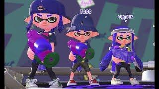 Splatoon 2 Online - Lets Level Up [Turf Wars] - Nintendo Switch