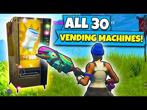 *NEW* EVERY Vending Machine Location In Fortnite!