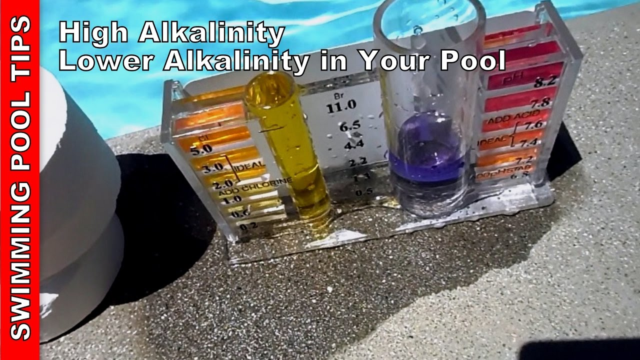 High Alkalinity Lowering Alkalinity In Your Pool Doovi