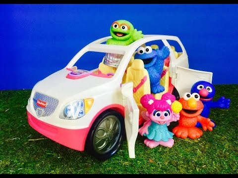 SESEME STREET Fisher Price Musical SUV Ride Outdoors!
