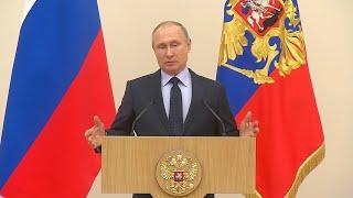 Путин попросил прощения у российских спортсменов