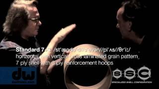 DW Drums -- Neil Peart & John Good Part 1