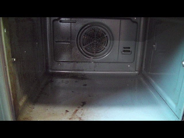 She uses these two ingredients to clean her dirty oven fast solutioingenieria Choice Image