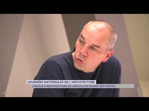 Journées nationales d'architecture : l'école d'architecture de Versailles ouvre ses portes
