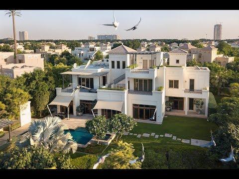 Stunning Harmonious Villa, Al Barari, Dubai, United Arab Emirates