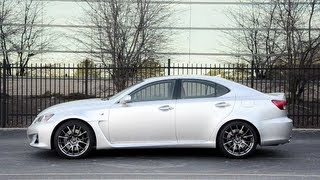 2013 Lexus IS F - WR TV POV Test Drive