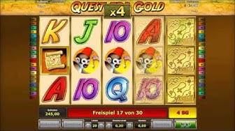 Quest for Gold online freispiele auf 6€ Einsatz + 80 sg´s