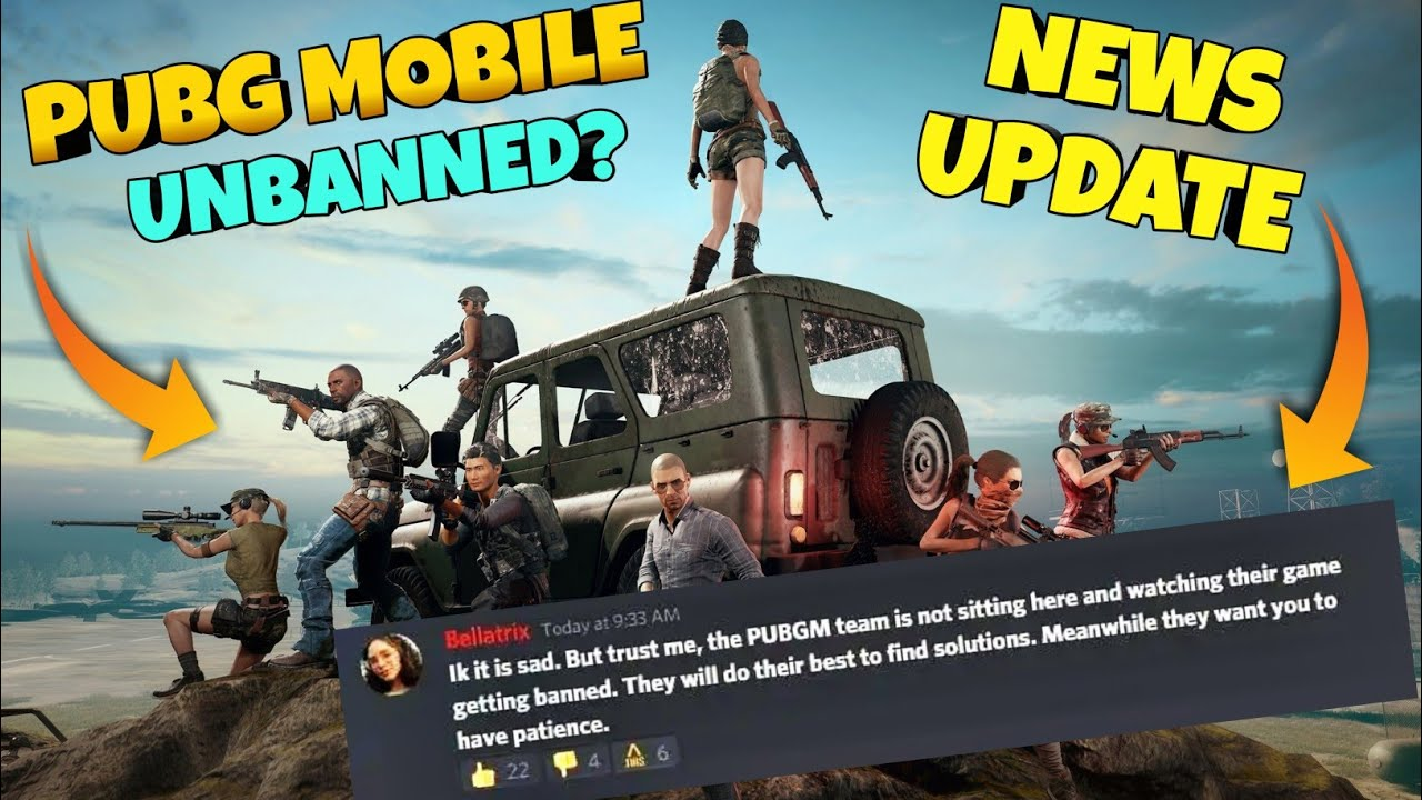 Pubg Mobile UNBANNED in India - Latest Update - Hopes Alive - G Guruji Pubg mobile Hindi Gameplay