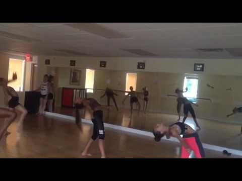 Lyrical with Miss chelsea at 5678 Dance