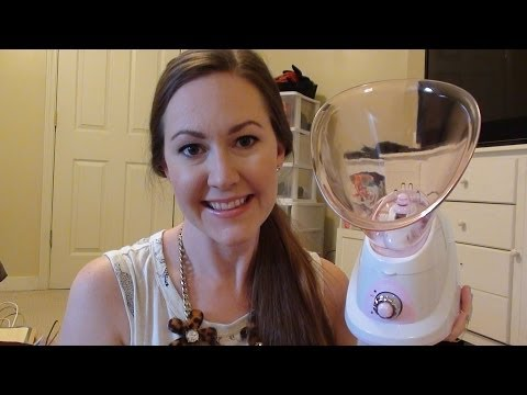 REVIEW: CONAIR True Glow Face Steamer