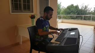 """Akbar Anani"" اكبر اناني (Marwan Khoury) E.Piano Cover"