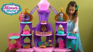 Shimmer and Shine Magical Light-Up Genie Palace Story with Shimmer and Shine and New Friends