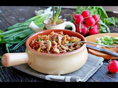 Салат с куриным филе, грибами, сыром и кукурузойиз YouTube · С высокой четкостью · Длительность: 2 мин53 с  · Просмотры: более 8000 · отправлено: 26.08.2014 · кем отправлено: Кулинарные рецепты