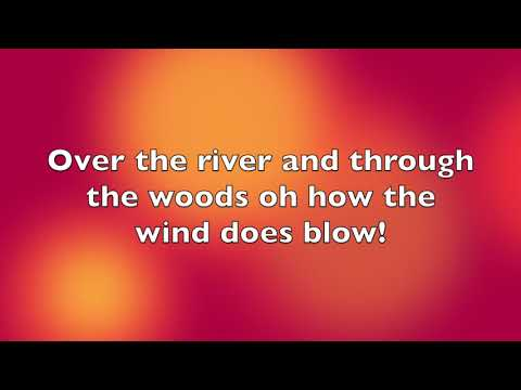 Over the River and Through the Woods with Vocals