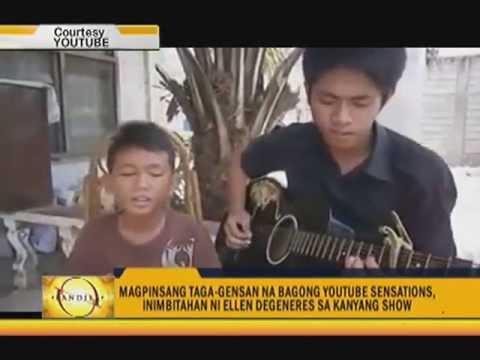 Pinoy YouTube Sensations Excited To Meet Ellen YouTube Unique Taga Nug Youtube