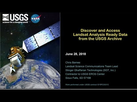 Discover and Access Landsat Analysis Ready Data (ARD) from the USGS Archive