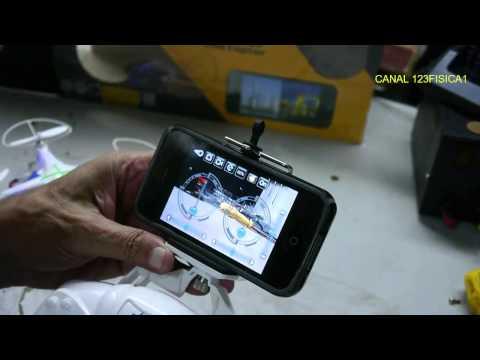 Review Drone Quadricoptero Cx-30w Filma Em Tempo Real