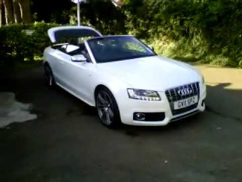 Audi S5 Cabriolet Exhaust Sound Youtube