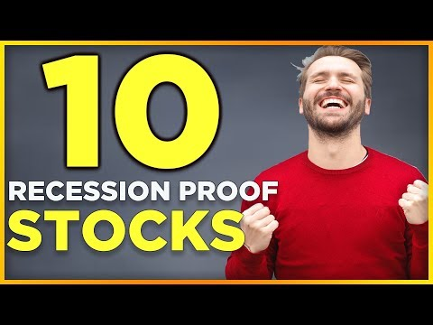 10 Recession Proof Stocks with ACTUAL results 📈| Best Bear Market Stocks & GOLD during Recession💰