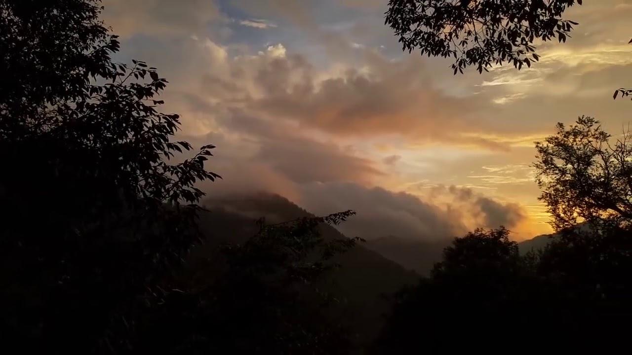Today's Beautiful Sunset From LBSNAA | LABSNAA Overview