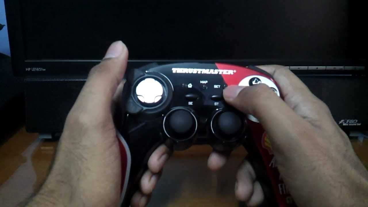 DRIVER UPDATE: THRUSTMASTER F1 FERRARI F60 GAMEPAD