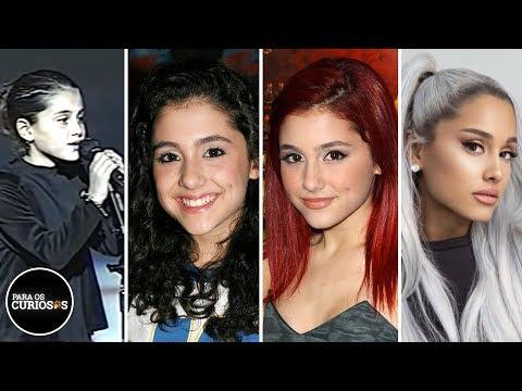O Passado Que Ninguém Conhece de Ariana Grande