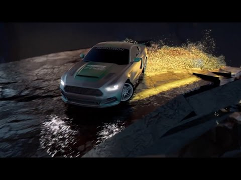 Racing Real Car in Virtual Reality - Castrol Edge & Video Games tech